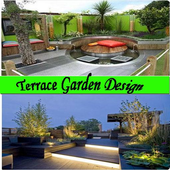 Terrace Garden Design icon