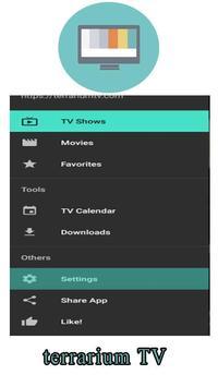 guide for terraium TV free screenshot 2