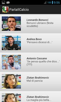 Parla il calcio screenshot 2