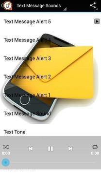 Text Message Sounds apk screenshot