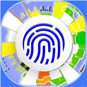 Fingerprint Sim - Lock Screen with Password icon