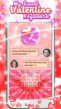 My Sweet Valentine Keyboard poster