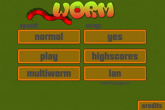 Worm poster
