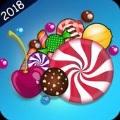 Candy 2018 : jewel crush icon