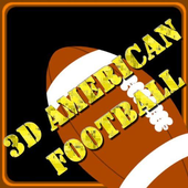 3D American Football Swipe icon