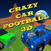 Crazy Car Football 3D icon