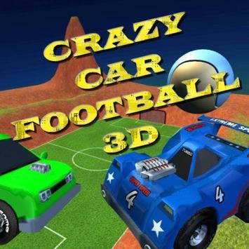 Crazy Car Football 3D poster