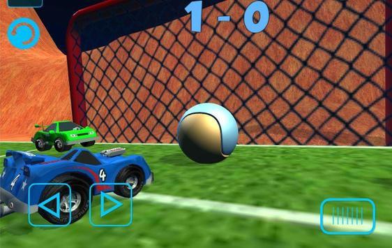 Crazy Car Football 3D apk screenshot