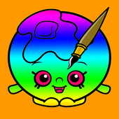 Kids Coloring Game for Shopkin icon