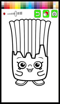 Kids Coloring Game for Shopkin poster