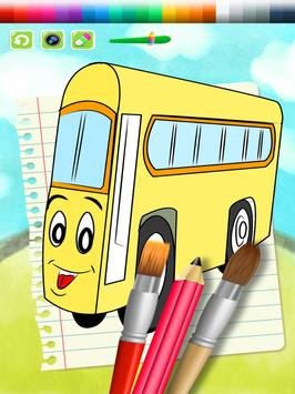 City Bus Coloring Book Kids apk screenshot