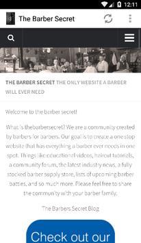 The Barber Secret poster