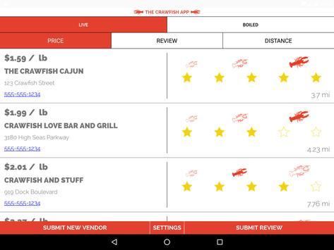 The Crawfish App apk screenshot