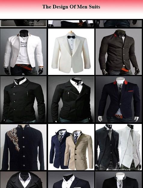 The Design Of Men Suits poster
