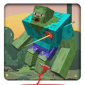 Blocky Zombies Shooting icon