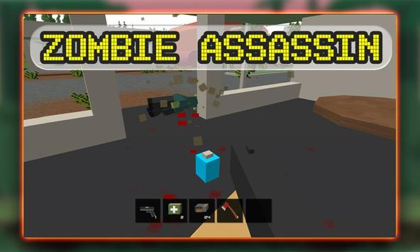 Blocky Zombies Shooting apk screenshot