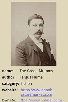 The Green Mummy poster