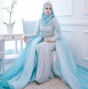 The Hijab Wedding Dress Design poster