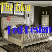 The Idea of Bed Design. icon