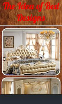 The Idea of Bed Design. poster