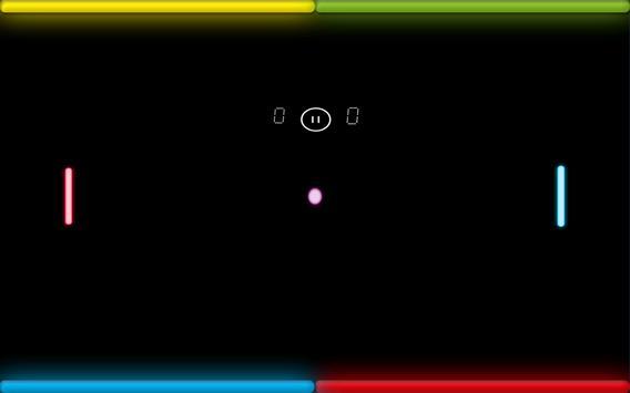 Neon Ping Pong screenshot 3