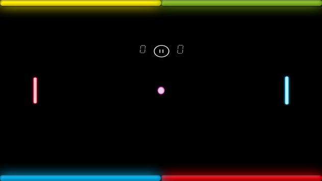 Neon Ping Pong screenshot 1