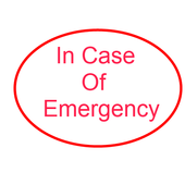 ICE Free -In Case of Emergency icon