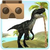 VR Time Machine Dinosaur Park (+ Cardboard) icon