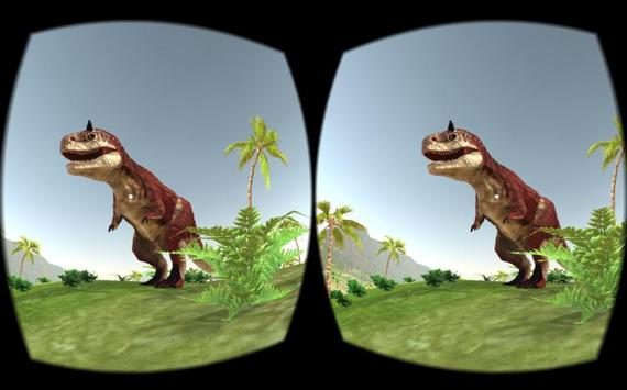 VR Time Machine Dinosaur Park (+ Cardboard) poster