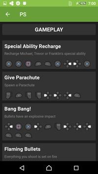Cheats for GTA - Codes 2017 apk screenshot