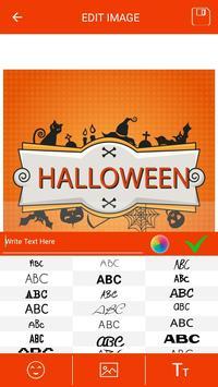 Halloween Greeting Cards Maker screenshot 4