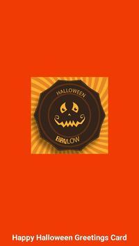Halloween Greeting Cards Maker screenshot 8
