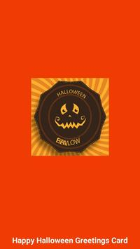 Halloween Greeting Cards Maker poster