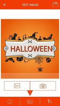 Halloween Greeting Cards Maker screenshot 12