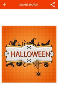 Halloween Greeting Cards Maker screenshot 14