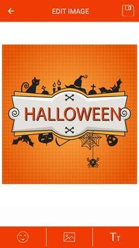 Halloween Greeting Cards Maker screenshot 1