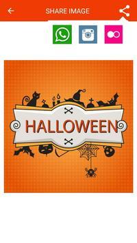 Halloween Greeting Cards Maker screenshot 23