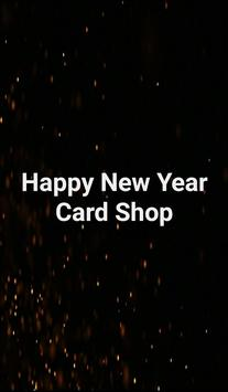 Happy New Year Greetings Card poster