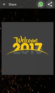 Happy New Year Greetings Card screenshot 5