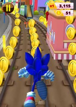 The Sonic Subway Super Adventure poster