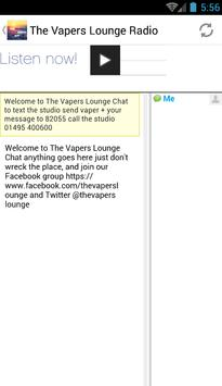 The Vapers Lounge Radio poster