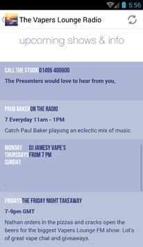 The Vapers Lounge Radio screenshot 3