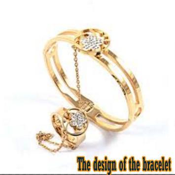 The design of the bracelet poster
