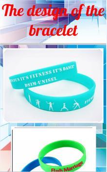 The design of the bracelet apk screenshot