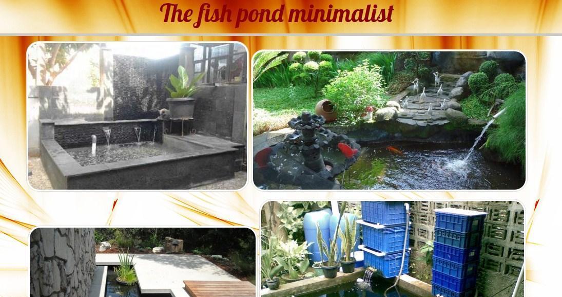 Taman Minimalis Kolam Ikan For Android Apk Download