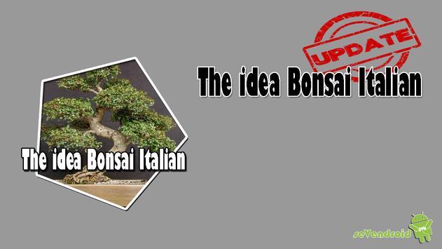 The idea Bonsai Italian screenshot 1