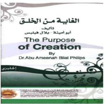The purpose of creation poster