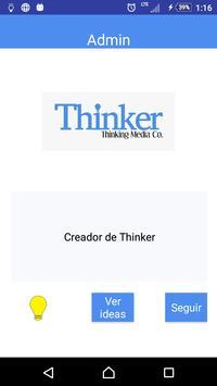 Thinker: the ideas network apk screenshot