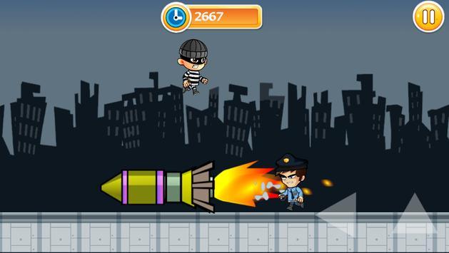 Thief King Run apk screenshot
