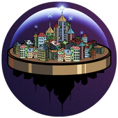 Mysterious town icon